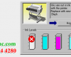 Khắc phục lỗi máy in không nhận hộp mực