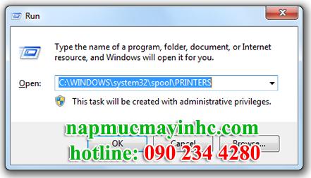 hướng dẫn khắc phục lỗi Error Printing